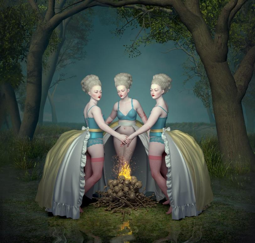 Campfire - popsurrealism, lowbrow - nathaliasuellen | ello