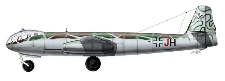 Heinkel 343 264 6 motoren - nanogeist | ello