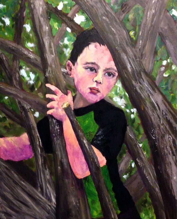 30 24 acrylic canvas - jennifervonstein | ello