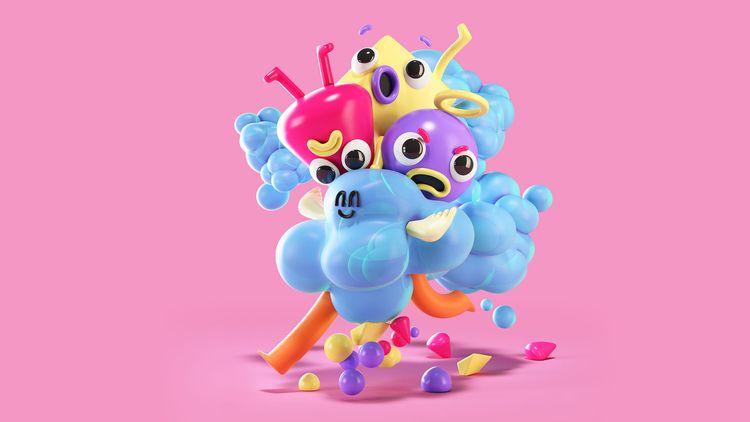 Follow cool stuff - 3d, character - eloykrioka | ello