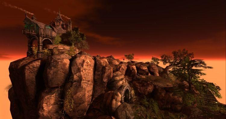 forbidding shot cliffs caves La - cirroccojones | ello