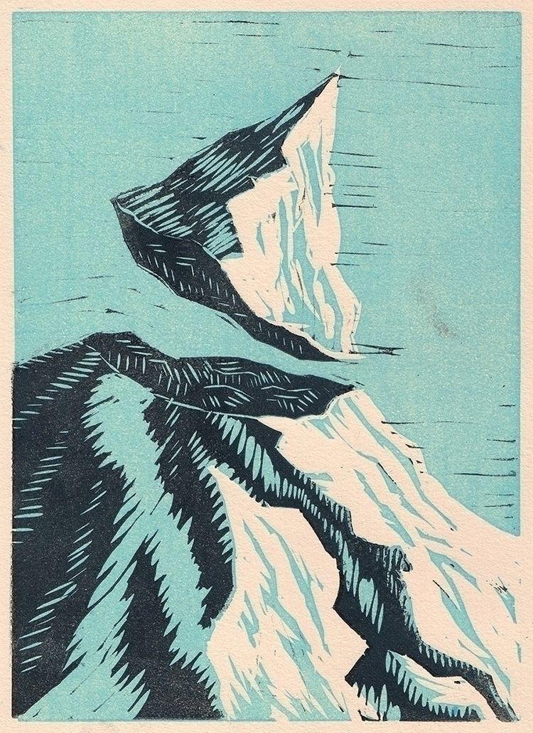 De-ranged - mountain, peak, hallucination - joanna-draws | ello