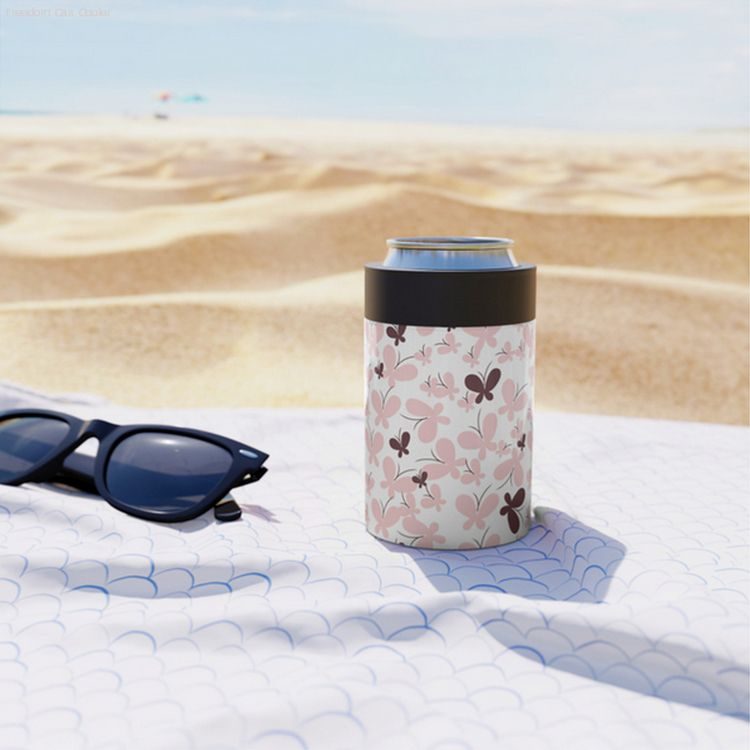 cancooler, butterfly, pink, society6 - miideegrafiche | ello