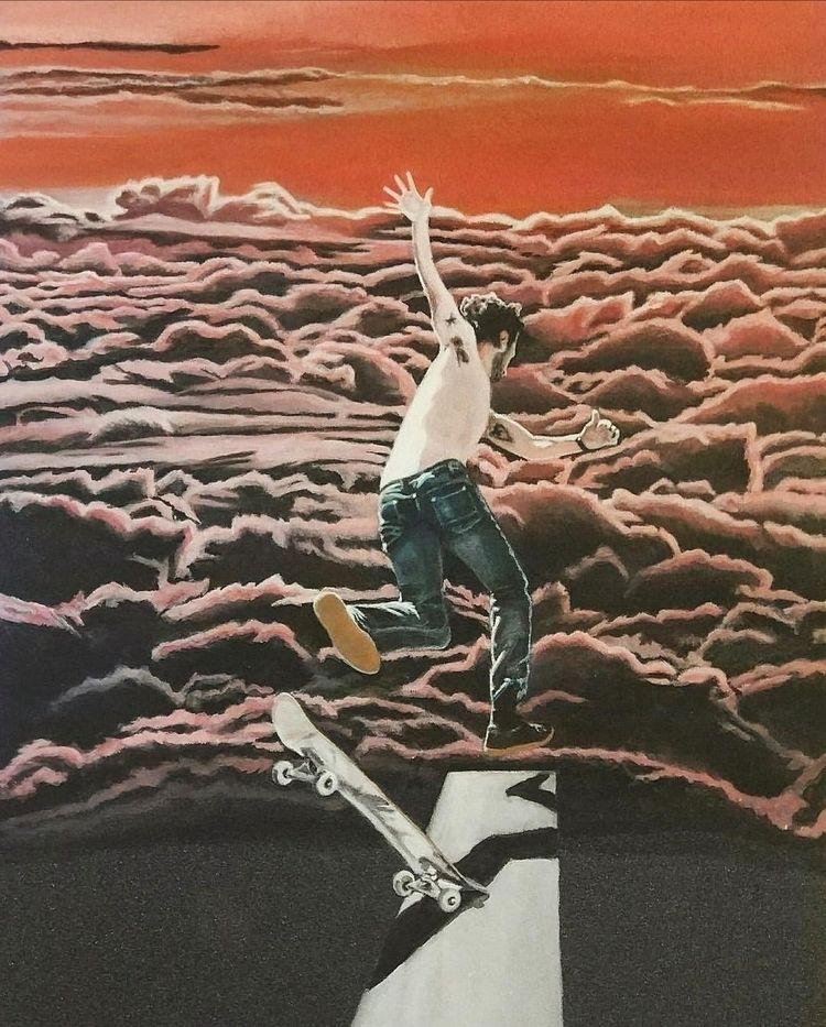 die~ Acrilic skateboard griptap - legab | ello
