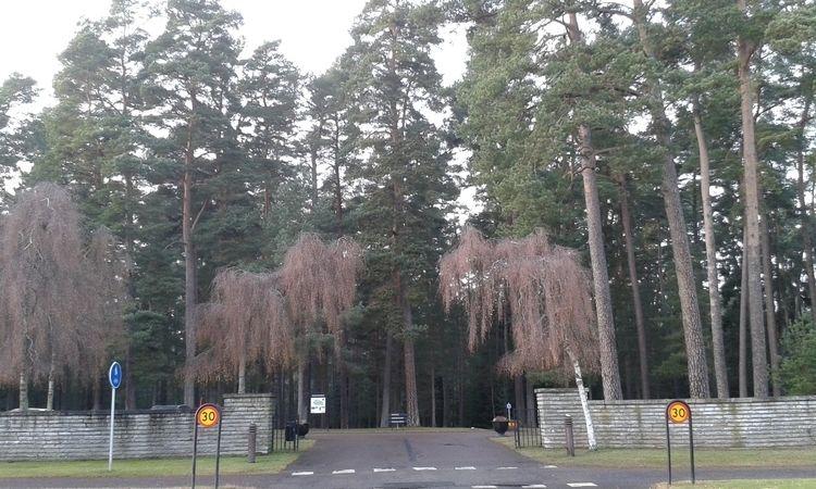 entrance Skogskyrkogården, Jönk - skogskyrkogardar | ello