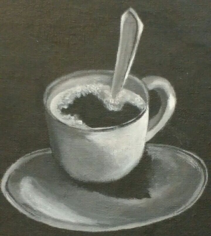 coffee Acrylic color Hor - illustration - hor199611 | ello