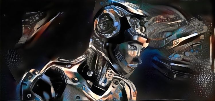 38601c(B2C1 - scifi, art, robot - officialvictorespinoza | ello