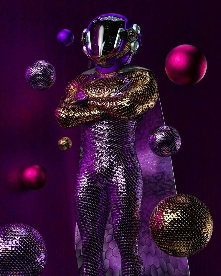 • PKTS_09 - texture, cyberpunk, neon - skeeva | ello