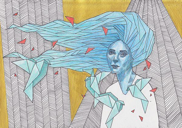 Lukrezia 2018 - illustration, art - lukrezia_yells_like_hell | ello