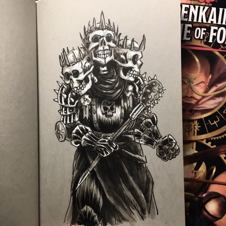 Skull Lord! Spoiler Alert playe - royallyeric | ello