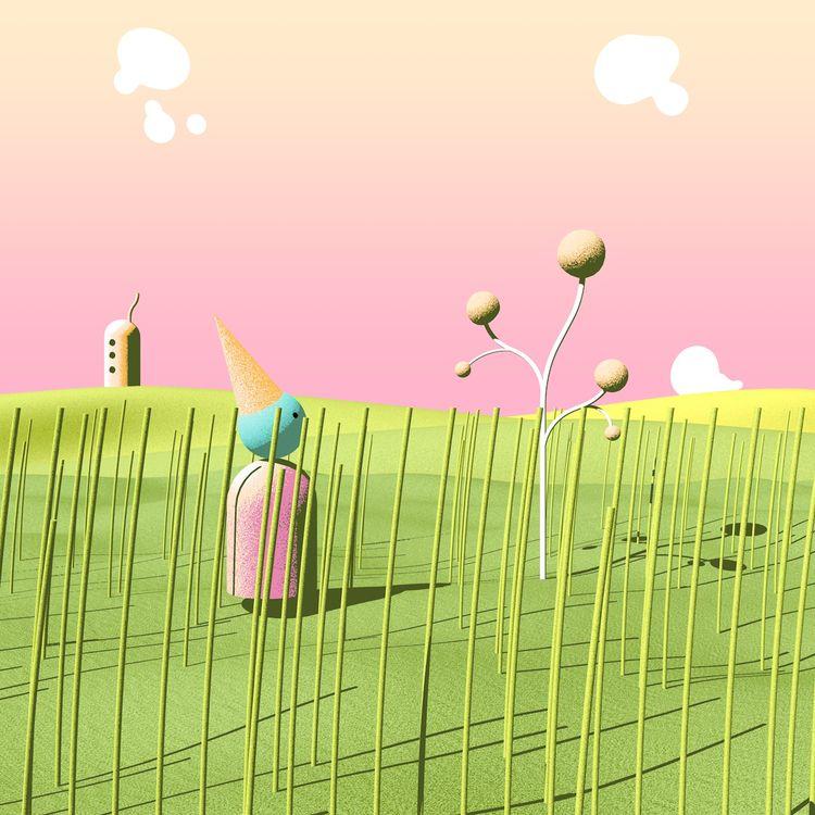 sky move windy day - abjahanbin | ello