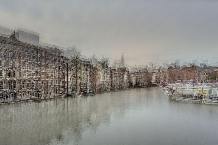 Damrak, Amsterdam (Multiple Exp - johnkosmopoulos | ello