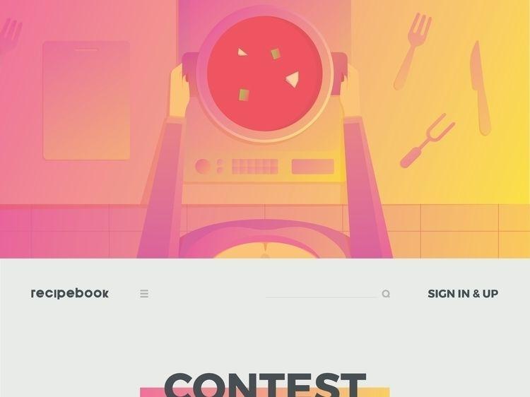 RECIPEBOOK CONTEST WEB - Recipe - fahadpgd | ello