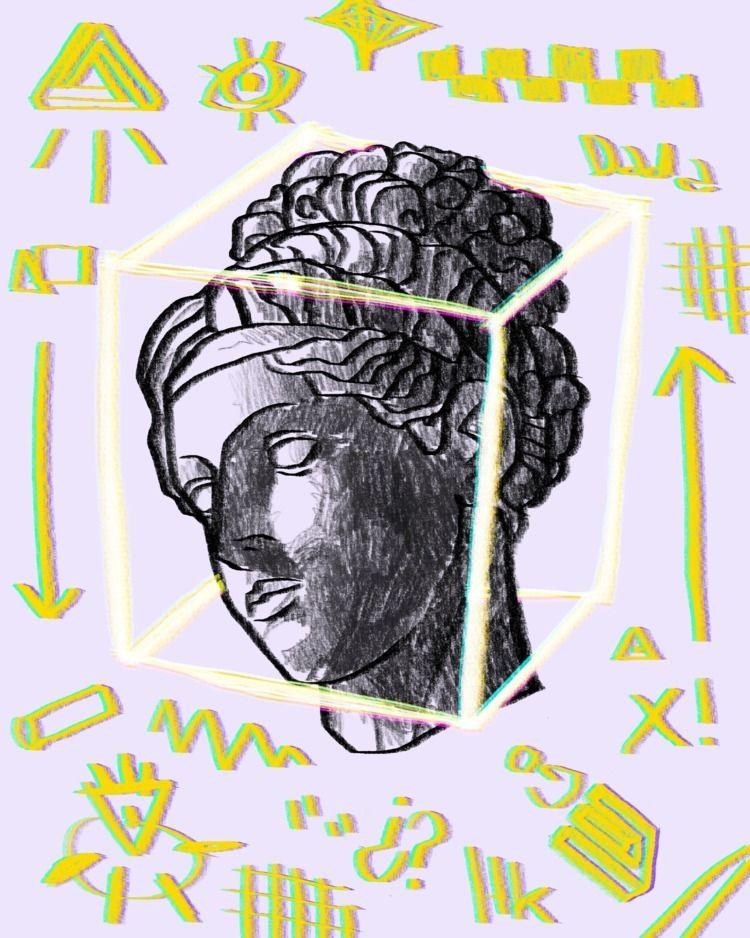 illustration, yellow, classic - haskan | ello
