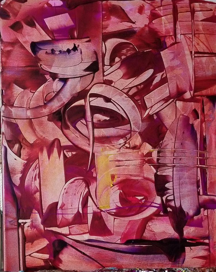 Art Beautiful Acrylic canvas 16 - dstring71 | ello
