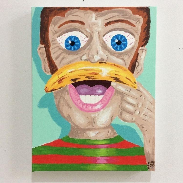'Todd ya Dork' 12 16 acrylic ca - andewhallart   ello