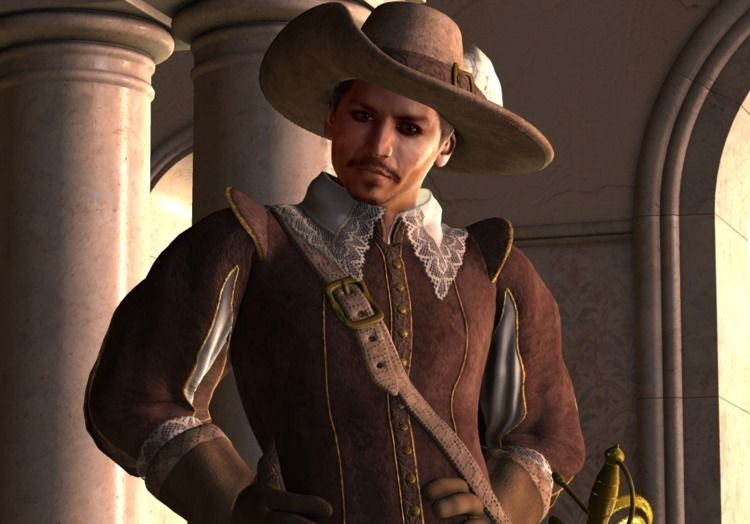 Johnny Depp Musketeer - cirroccojones | ello