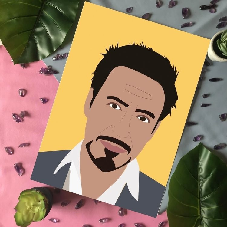 Celebrity Artwork Robert Downey - syairahkimmy | ello