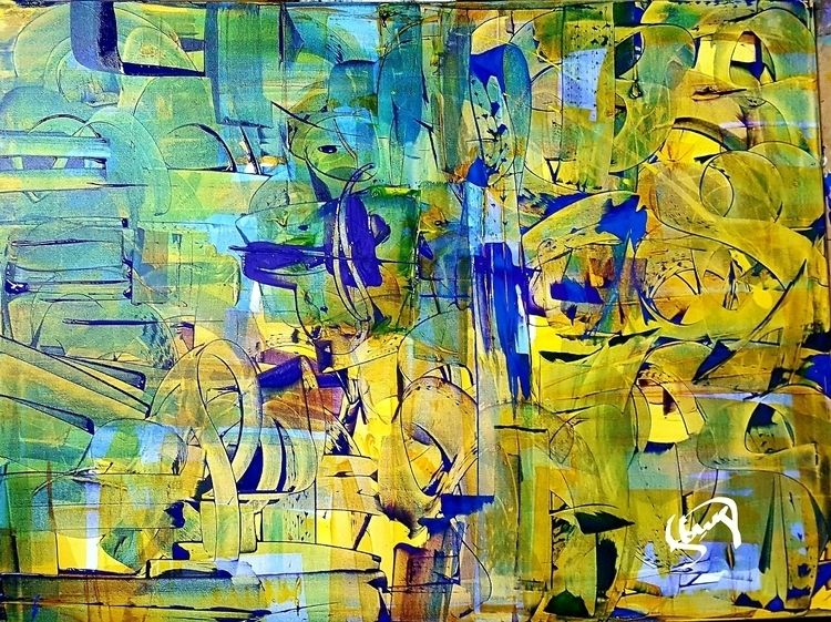Art Pop Life, 2016 Acrylic gall - dstring71 | ello