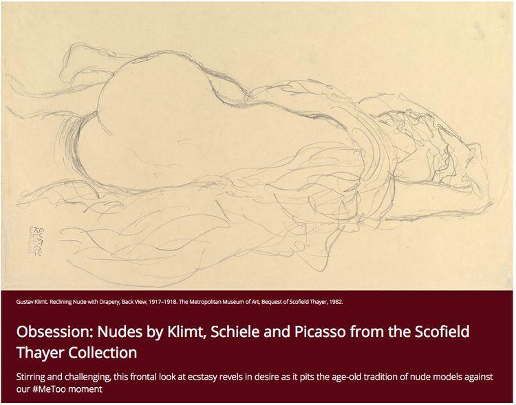 Obsession: Nudes Klimt, Schiele - studiointernational | ello
