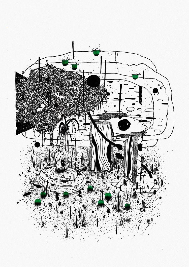 Sombra Segura - art, illustration - rodrigoperna | ello