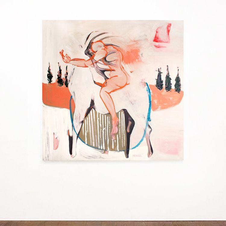 Ritt 2014 / oil canvas 153 cm e - tinavonhase | ello