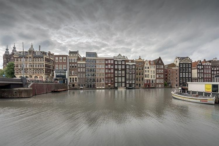 Damrak Amsterdam Series - damrak - johnkosmopoulos | ello