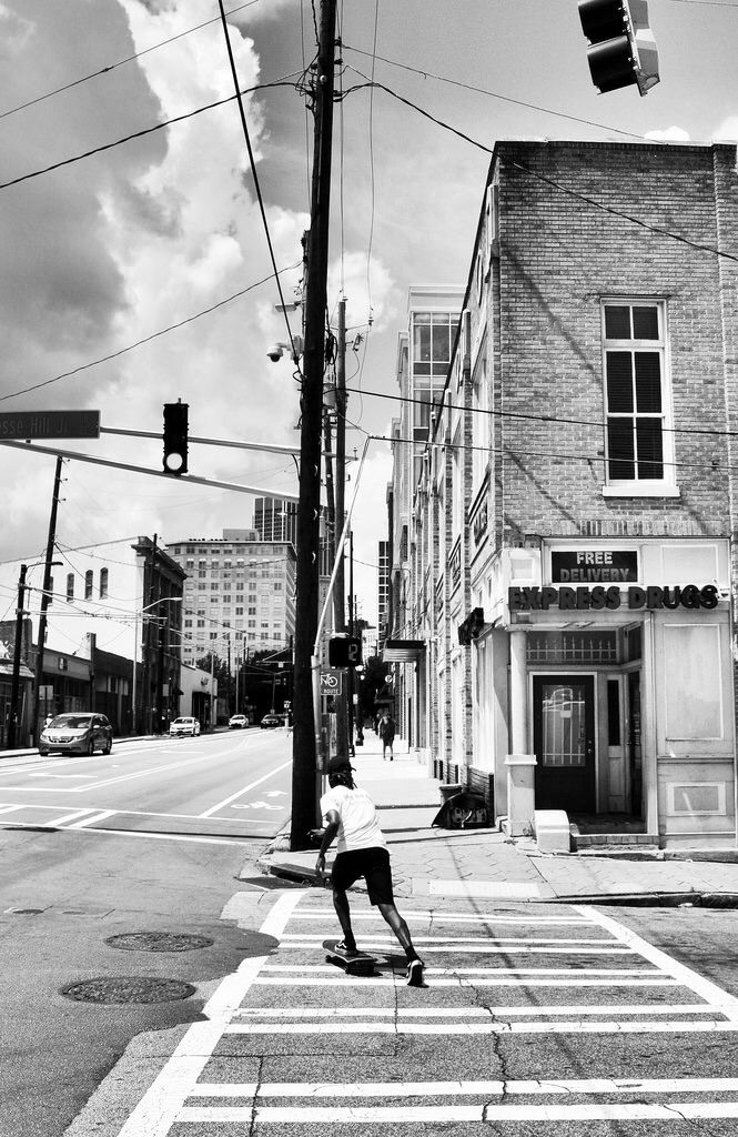 Sweet Auburn - streetphotography - drewsview74 | ello