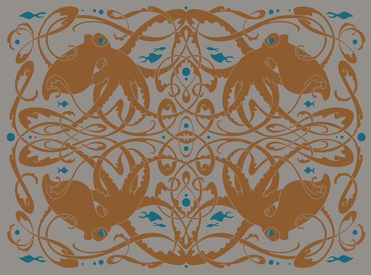 Octopus Knot design Hazel Glass - hazelglass | ello
