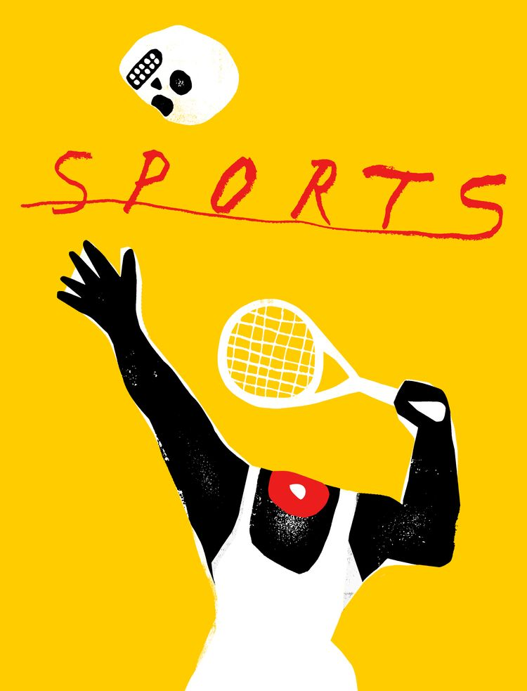 SPORTS - illustration, grossillustration - grossillustration | ello