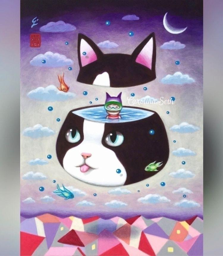 "Happy International Cat Day! ""N - carolinaseth | ello"