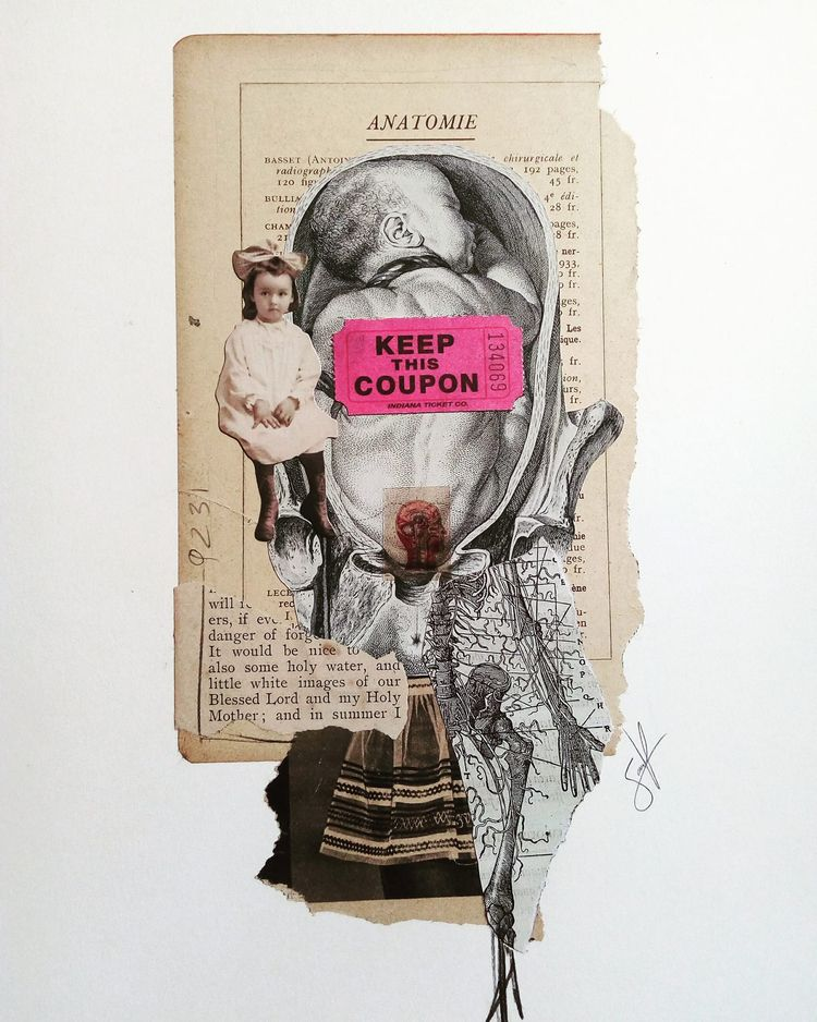 art, collage, keepthiscoupon - sanchezisdead | ello