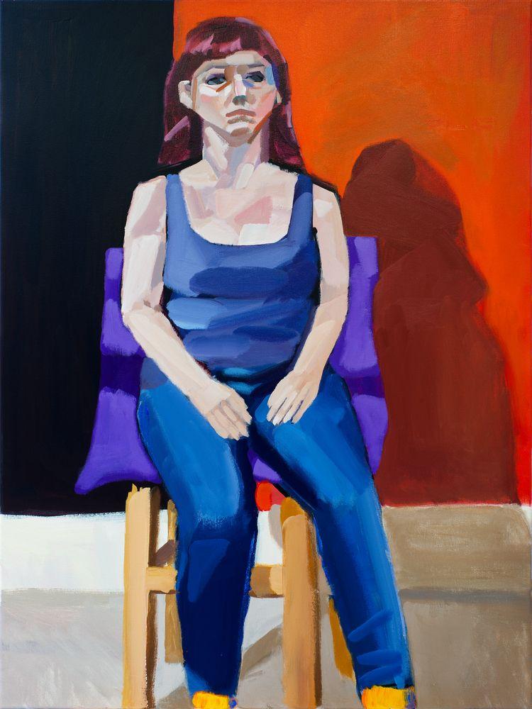 Karen Acrylic canvas, 40 30 inc - chunbumpark | ello