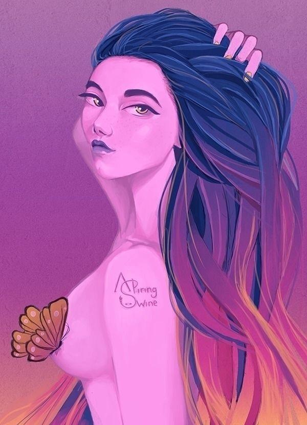 Nectar Instagram: Artstation: D - aspiringswine | ello