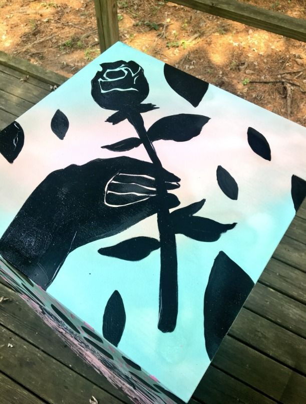 VIEWS! Freshly painted art pede - blflood   ello