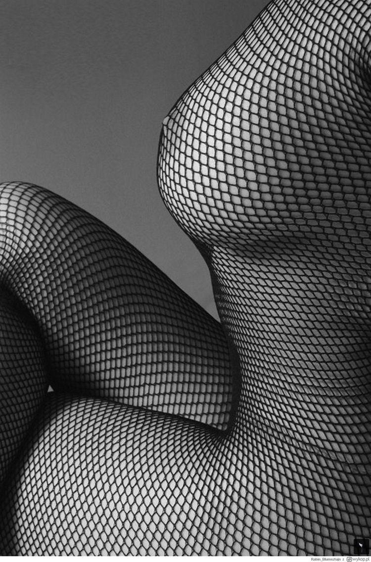 tits, fishnet, blackandwhite - ukimalefu | ello