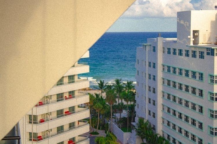 Miami Beach Apartment View Shot - vickent   ello