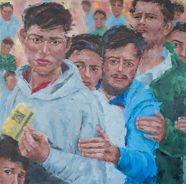 Refugees. 30 30. Oil canvas. Pa - jackrosenberg | ello