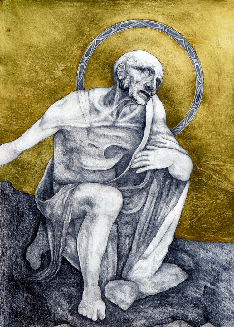 version St Jerome originally Le - peterandrew   ello