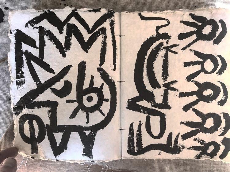 2 paintings post! pack gear adv - rostislavromanov | ello