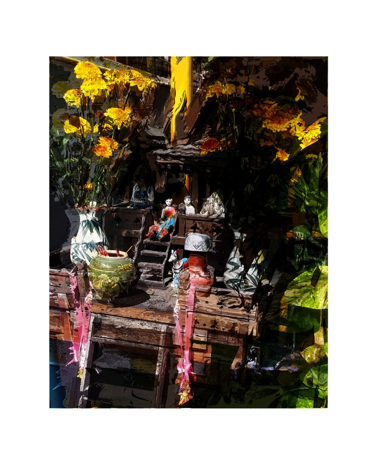 Spirit house Chiang Mai - art, contemporaryart - paulsmedberg | ello