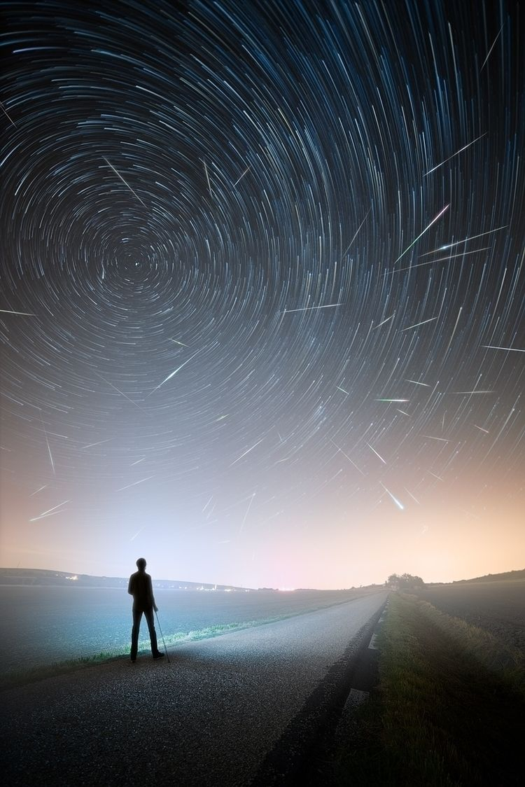 photo 2018 - Perseids, astro, astronomie - alexandreparrot | ello