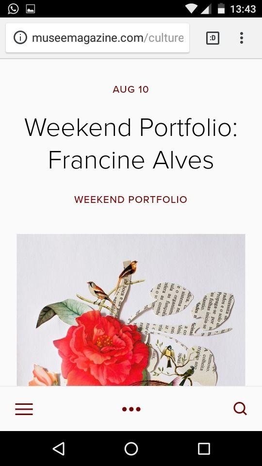 Musée Magazine  - collage, flower - franalvez | ello