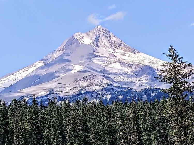 mountains smile.. big Mt Hood,  - anthony225 | ello