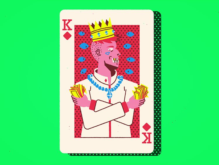 King Diamonds cards character d - dairbiroli | ello