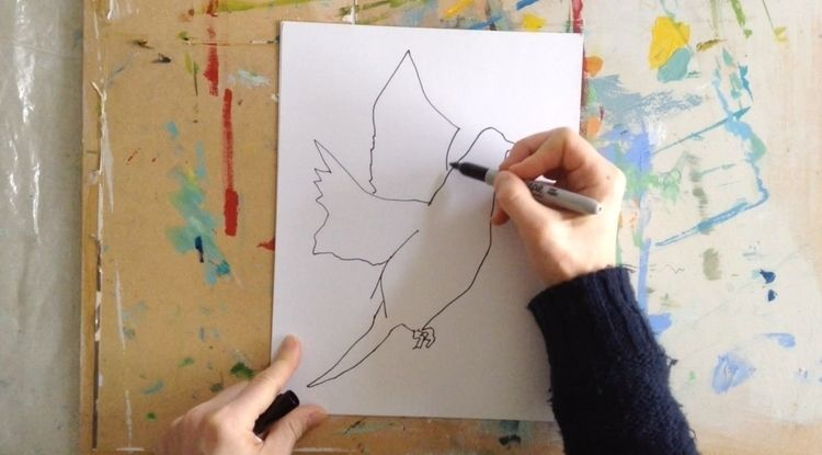 Fly / high speed drawing video  - picoo | ello