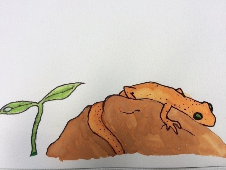 Hey art Pennsylvania watercolor - momosaurus | ello