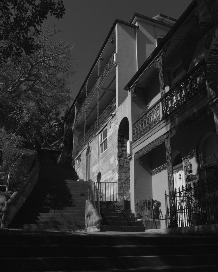 Observatory steps, Sydney - photography - angrymanwithaxe | ello