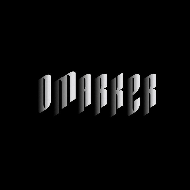 Omarker - Shadow - omarker, typography - omarker | ello