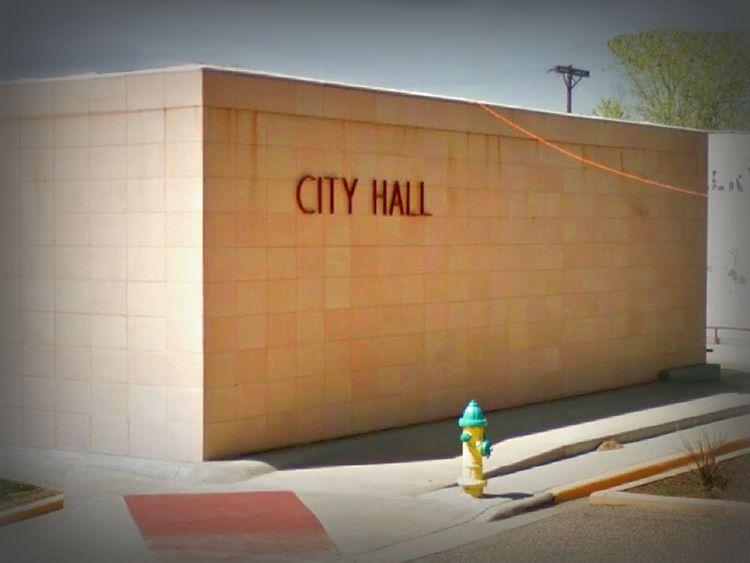 City Hall, Denver City, Texas - rephotography - dispel | ello